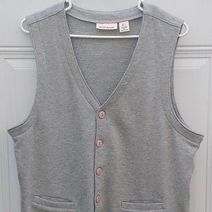 Grey DKNY Vest size L